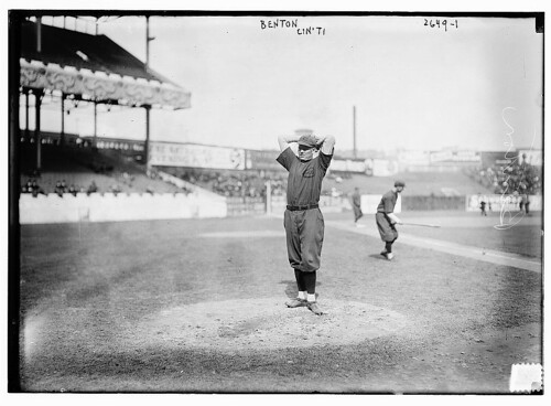 [Rube Benton, Cincinnati NL (baseball)]  (LOC)