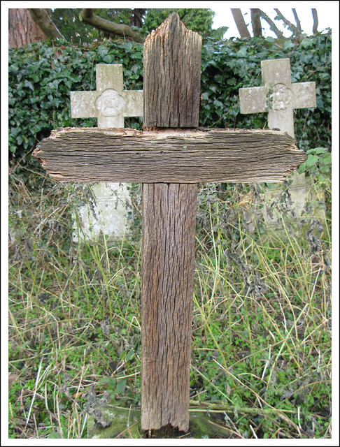 Wooden Cross Holywell Cemetery Oxford Flickr Photo