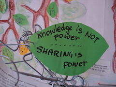 sharing is power