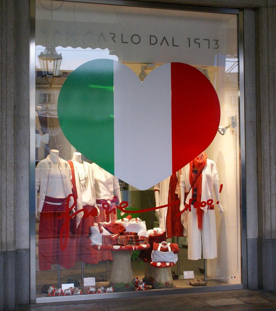 Via roma men's clothing store