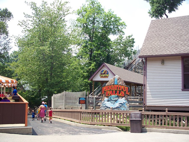 Holiday World - Frightful Falls Entrance