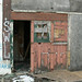 Side door - Abandoned Packard Plant-Detroit