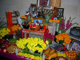 Luis jimenez memorial altar by dayna dehoyos and chuck ramirez 2006
