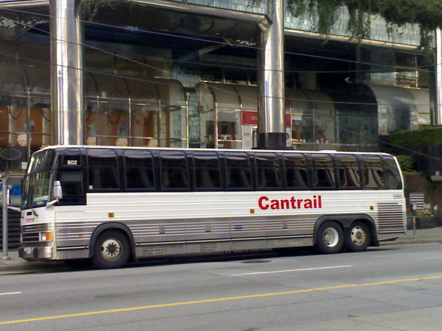 Cantrail Weekend West Coast Express TrainBus