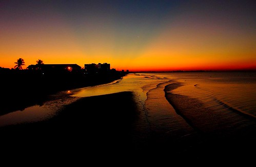 beach sunrise dawn florida fortmyersbeach