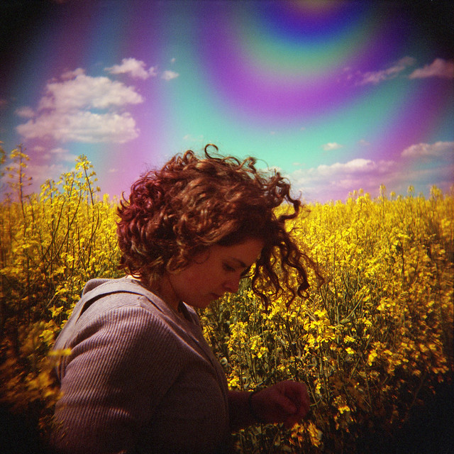 maria in field