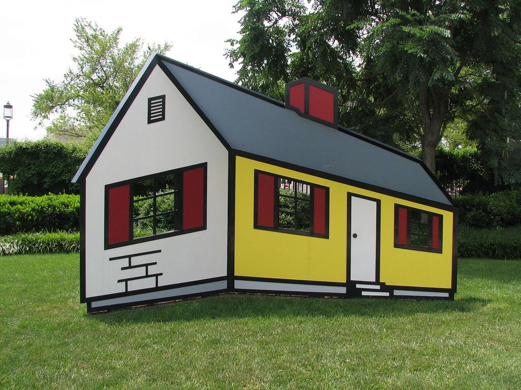 """Lichtenstein: """"House"""""""