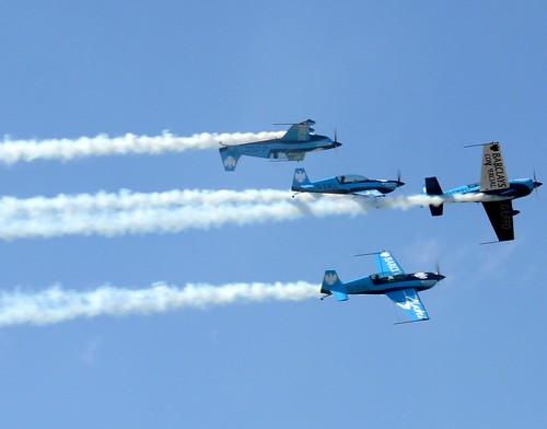 team display aerobatic theblades goldstaraward