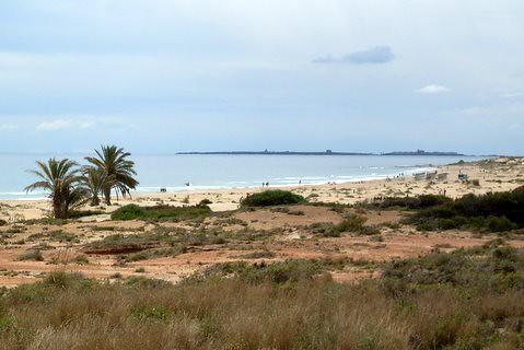 Carabasi Playa with view on Tabarca
