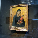 Duccio di Buoninsegna - Madonna and Child (1300)