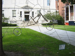 Montpelier bike sculpture