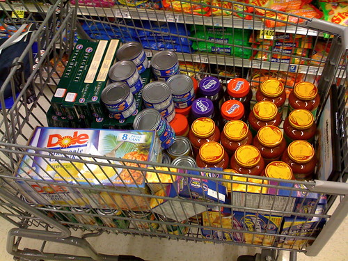 Cart for the Food Bank