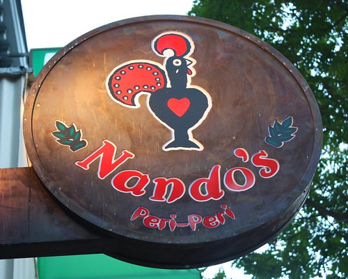 'Nando's Peri-Peri Sign' by Mr. T in DC
