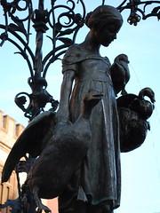 Gänseliesel (goose girl), Gottingen, Germany
