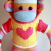 Sam Mars Sock Monkey