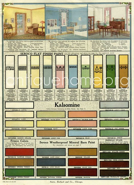 seroco paint sears and roebuck 1918 flickr photo. Black Bedroom Furniture Sets. Home Design Ideas