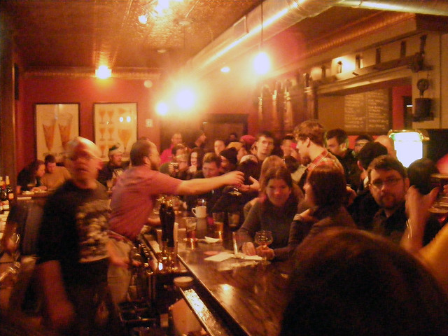 The bar's jumping at Local 44