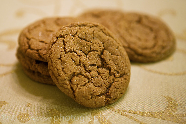 Molasses Spice Cookies | Flickr - Photo Sharing!
