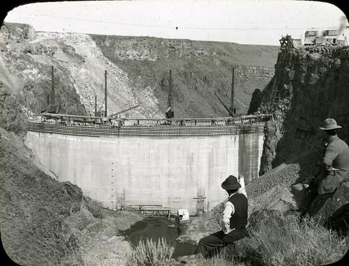 construction dam idaho irrigation lanternslide salmonfallsdam salmonfallscreek