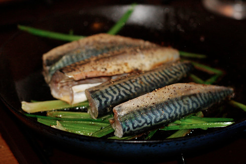 mackerel dinner