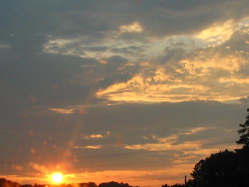 sunset g7 duringcommuteafterstorm northboundonus41 may232008