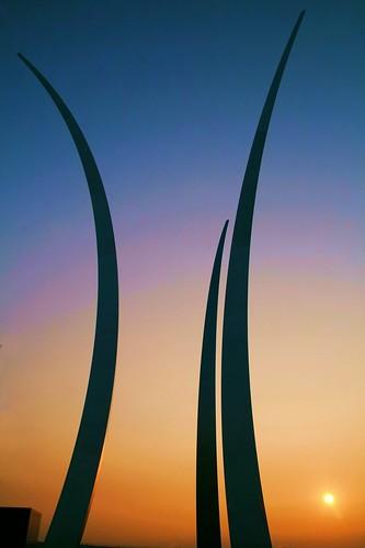 sunrise freedom usaf herberthoover airforcememorial anawesomeshot