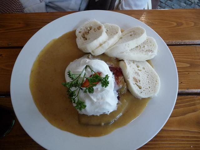 блюдо в Праге Свичкову