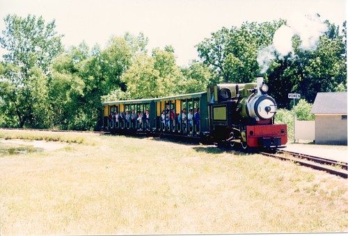 The Hesston Steam Museum. Hesston Indiana. June 1988. by Eddie from Chicago