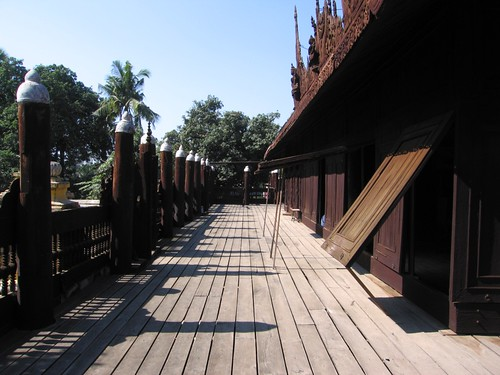 Shwe In Bin Kyaung (Monastery) - Mandalay, Myanmar (Burma)