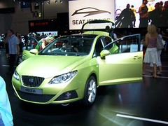 automobile, family car, supermini, vehicle, automotive design, auto show, full-size car, mid-size car, seat bocanegra, compact car, seat ibiza, land vehicle, hatchback,