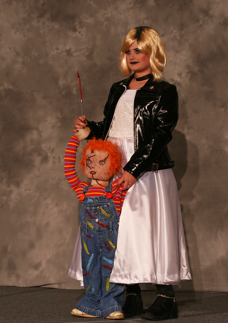 Bride of Chucky Costume http://www.flickr.com/photos/thegr/2724227094/