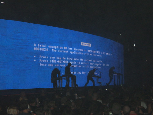 NIN The Great BLUE SCREEN OF DEATH