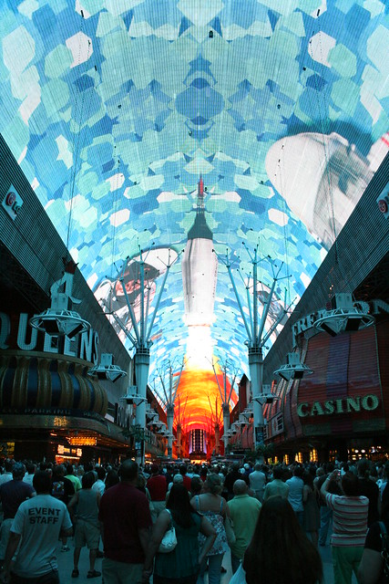 las vegas, The Fremont Street Experience