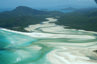 Whitehaven Beach, Whitsunday Islands, Queensland, Aerial View