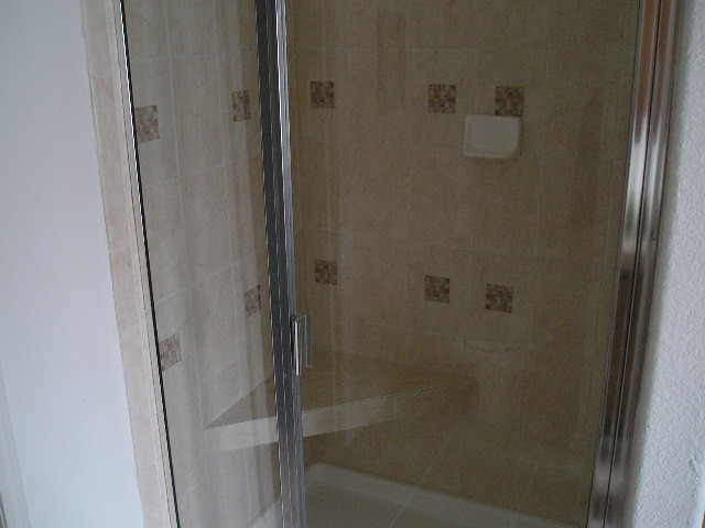Tile Shower With Tile Seat Flickr Photo Sharing