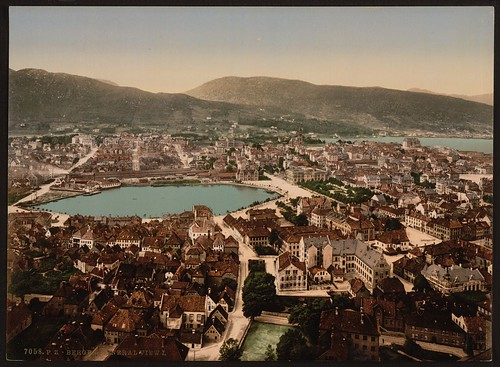[Panoramic view, I, Bergen, Norway] (LOC)
