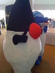 art(0.0), sculpture(0.0), inflatable(0.0), textile(1.0), plush(1.0), mascot(1.0),