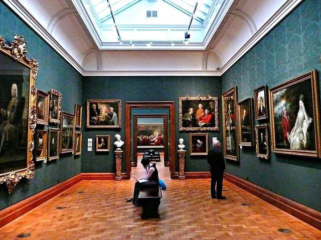 Inside the National Portrait Gallery - Flickr CC herry