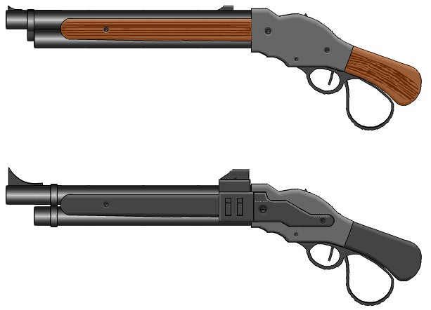 mw2 model 1887 code