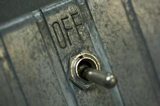IBM 26 on/off switch
