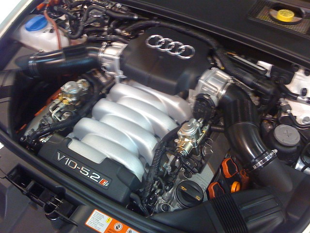 audi s6 v10 engine flickr photo sharing. Black Bedroom Furniture Sets. Home Design Ideas