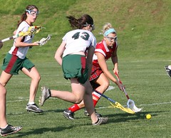 hockey(0.0), field hockey(0.0), stick and ball games(1.0), sports(1.0), stick and ball sports(1.0), team sport(1.0), women's lacrosse(1.0), ball game(1.0),
