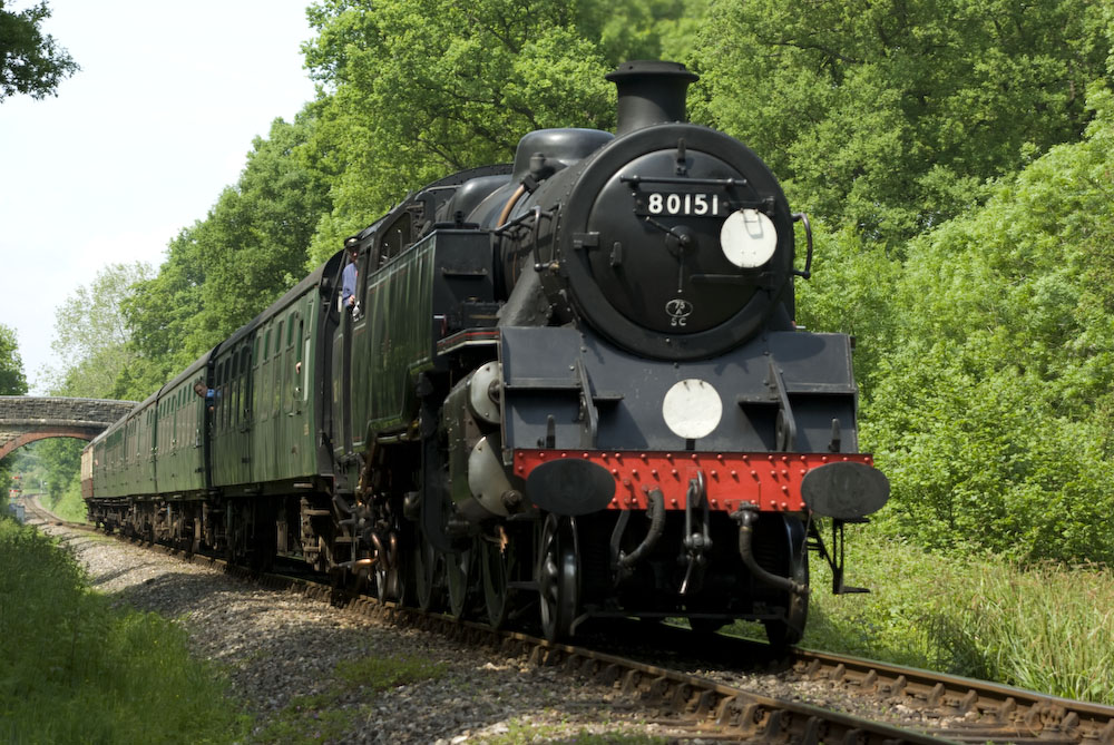 British Railways Standard Class 4MT Tank Locomotive No.80151