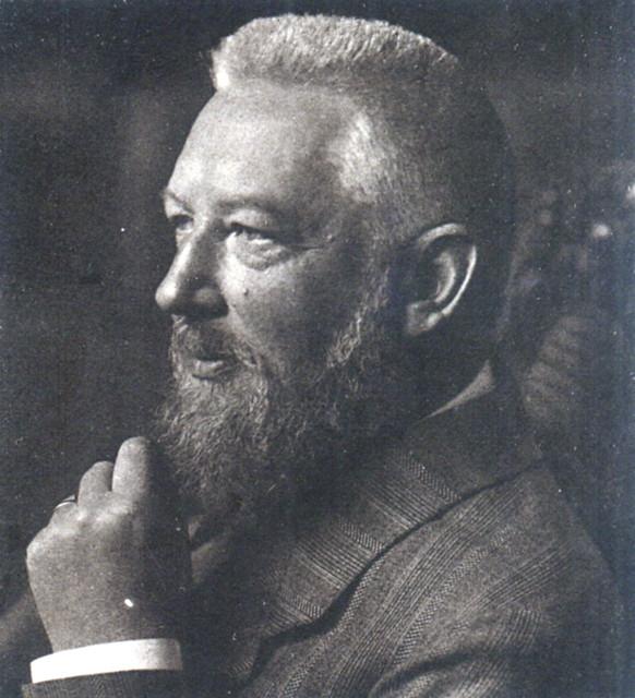 Portrait of Wilhelm Ostwald (1853-1932), Chemist