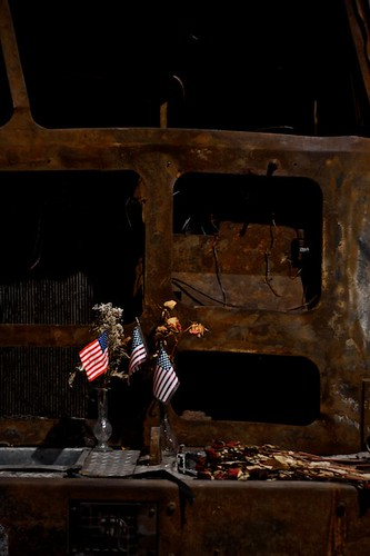 9/11 Exhibit, Firetruck.