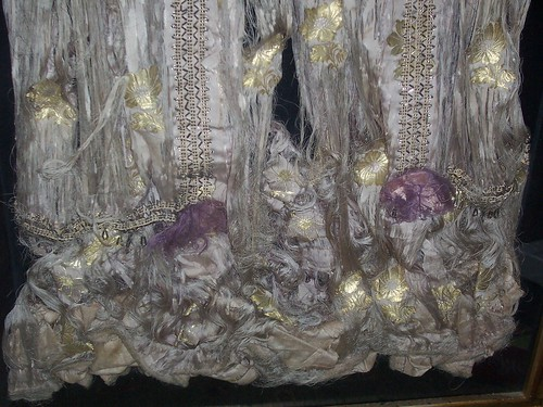 The skirt of the 100-year old hand-sewn Turkish wedding dress   #3