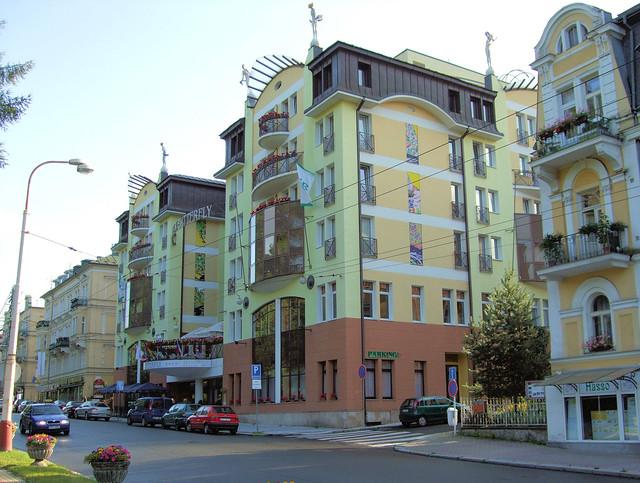 Marienbad Hotel  Sterne Hallenbad
