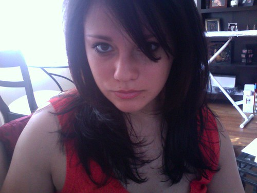 side bangs, babay by Amanda Gravel