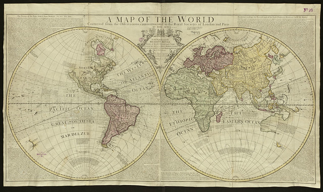 Header of A Map Of The World