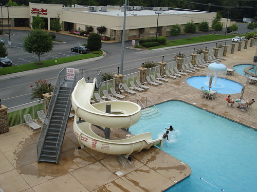 WaterSlide at our hotel